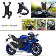 AutoStark Motorcycle Mount Cell Phone Holder/Installed to Motorcycle Rearview mirror Phone Mount For Yamaha YZF R1