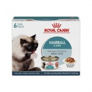 Royal Canin Hairball Care Thin Slices in Gravy Canned Cat Food, 3-oz, pack of 6