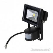 LED Floodlight - 10W PIR 259800 5024763122873 Silverline
