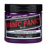 HIGH VOLTAGE CLASSIC SEMI-PERMANENT HAIR COLOUR (Ultra Violet) (4oz) 118ml