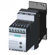 Lágyindító 3.6A, 3f 0.75-1.5Kw 200-480V motorokhoz, 110..230V AC/DC vezérlő feszültség, csavaros csatlakozás, S00 méret (Siemens 3RW3013-1BB14)