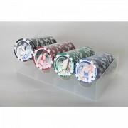 Póker zseton 100 db 11,5 grammos -Egyéb ajándéktárgyak