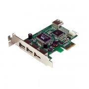 Adaptador tarjeta PCI-E LOWP USB2.0 Startech, PEXUSB4DP