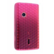 TPU Gel Case for Sony Ericsson XPERIA X8 - Sony Soft Cover (Pink)