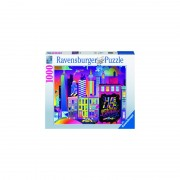 PUZZLE NEW YORK COLORAT, 1000 PIESE