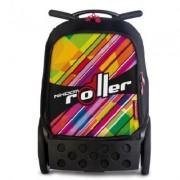 Ghiozdan XL Kaleido Roller NIKIDOM + cadou rechizite de 100 lei