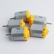 5 pcs DC Toy Motor for Engineering Hobbyists - Project use