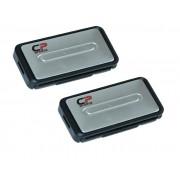 Clips fixare centura siguranta auto CP Sport ornament silver , 2buc Kft Auto