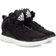 Adidas D ROSE 6 BOOST Men Basketball Shoes For Men(Black, White)