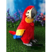 "10"" Simulation Macaw Parrot Stuffed Animal Toys Soft Blue-and-Yellow Macaws Plush Toys"