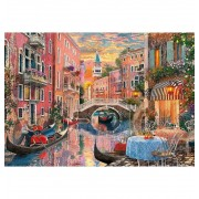 Puzzle 6000 Piezas Atardecer En Venecia - Clementoni