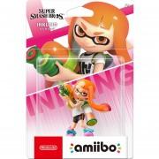 Figura Nintendo Amiibo Inkling Girl Colección Super Smash Bros