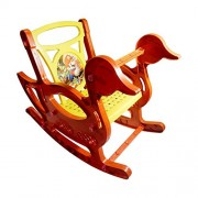 Play & Enjoy High Quality Easy Rolling Rocking Plastic Chair for Kids by eRunners