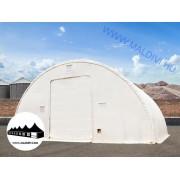 Hangár 12,2x21m 6,1m magas / 720g/m2 PVC / Tűzálló / 1,5m szerkezeti távolság ()