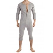 L'Homme Invisible - Lounge Bodysuit Grey HW138-LOU-GC1