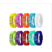10 Colors LED DIGITAL BAND WATCHES FOR KIDS BOYS GIRLS UNISEX Super SALE DHAMAKA