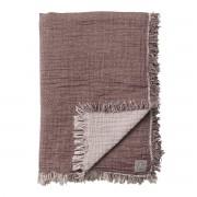 &Tradition Cotton Throw Deken Burgundy - 140 x 210 cm.