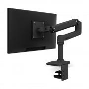 Ergotron LX Series 45-241-224 Supporto da Tavolo per Monitor a Schermo Piatto 34'' Morsa Bullone di Ancoraggio Nero