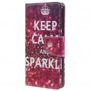 Bolsa tipo Carteira Style Series para OnePlus 5 - Keep Calm and Sparkle