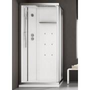 Grandform White Space Idro Boîte d'hydromassage 120x80 - Hauteur du receveur: H 10 cm