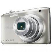 Digital Camera Coolpix A100 Silver + Калъф + Карта памет 8GB