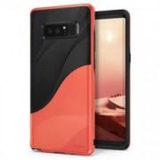 Husa Ringke Wave Negru cu Portocaliu Pentru Samsung Galaxy Note 8 N950