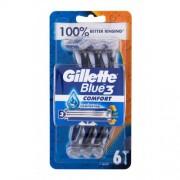 Gillette Blue3 6 ks holiaci strojček pre mužov