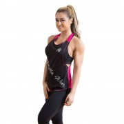 Gorilla Wear Florida Stringer Tank Top Black/Pink - S