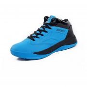 Zapatos De Baloncesto Para Hombre TENIS ZAPATILLAS Calzado Deportivo -Azul