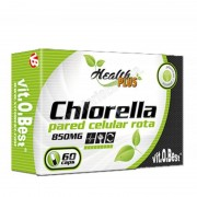 Health PLUS. VitOBest Chlorella 800mg. pared celular rota 60 cap. health plus - chlorella y espirulina