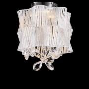Kosiluz Elegante Lámpara de araña LED - Cristal y Cromo - Cassiopee
