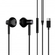 XIAOMI BRE02JY [Type-C Plug] In-ear Headphone [Support Hands-free Phone Calls] for Huawei P20 / P20 Pro Etc. - Black
