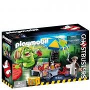 Playmobil Ghostbusters™: Slimer con Stand de Hot Dog (9222)