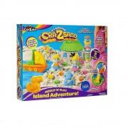 Cra-Z-Sand Island Adventure szigetes homokgyurma játékkészlet