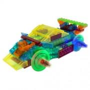 Blocos de Montar Power Block Carro Esporte 8 em 1 Laser Pegs
