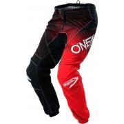 Oneal O´Neal Element Racewear 2018 Pantalones Negro/Rojo 36