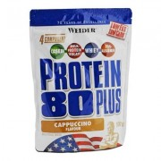 Weider Protein 80 Plus Cappuccino 500g