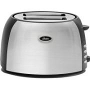 Oster TSSTJC5BBK-049 800 W Pop Up Toaster(Silver and black)