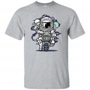 228 - RTP - Roach Graphics - Space Bike-01 - Adult Unisex T-Shirt