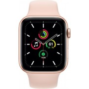 Apple Watch SE 44mm (GPS Only) Aluminium Case Gold Sport Band Roz