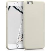 Husa iPhone 6 Plus / 6S Plus Silicon Crem 40841.16