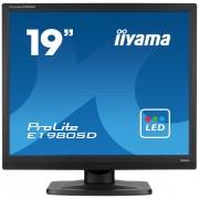 "iiyama ProLite E1980SD 19"" TN+Film Black computer monitor"
