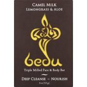 Bedu Face and Body Bar - Lemongrass and Aloe - Case of 6 - 4 oz.