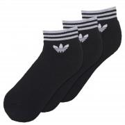 Sosete unisex adidas Originals Trefoil Ankle 3 Pairs AZ5523
