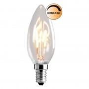 Globen Lighting LED lampa Klar 3W E14 Dimbar L200 Globen Lighting Globen Lighting