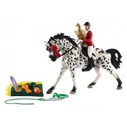 Schleich Show Set with Knabstrupper Mare