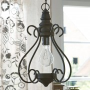 LOBERON Lamp Raix / zwart