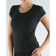 GINA Tričko s kulatým výstřihem 98061-MxC černá S