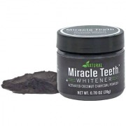 SPERO 20g Miracle Teeth Natural Carbon Teeth Cleaning Powder Whitening Tooth Powder Bamboo Charcoal Dentifrice