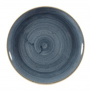 Churchill Super Vitrified Churchill Stonecast Coupe Plates Blueberry 288mm (Pack of 12)